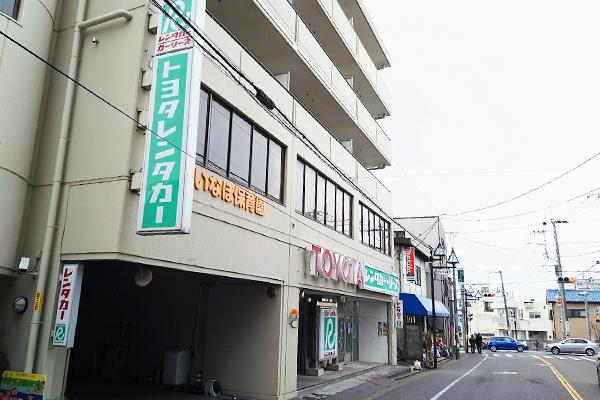稲毛店>側面